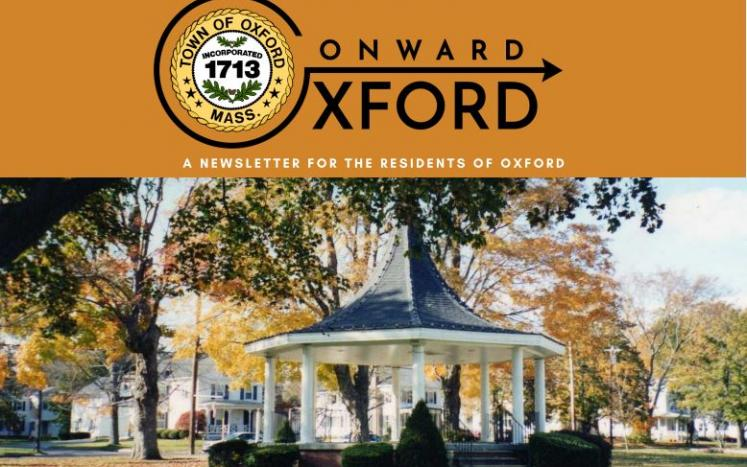 Cover of Onward Oxford Newsletter
