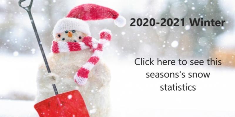 2020-2021 Winter Snow