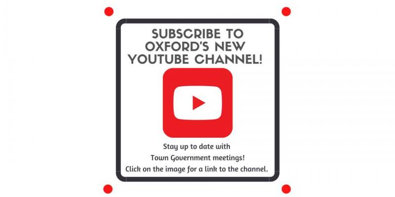 Town of Oxford YouTube Channel